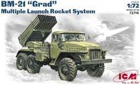 Реактивная система залпового огня БM-21 «Град»