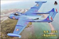 Морской реактивный истребитель S.E.203 Aquilon