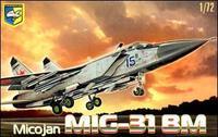 Cоветский перехватчик МиГ-31 БМ Фоксхаунд
