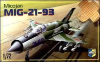 Советский истребитель МиГ-21-93
