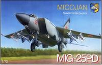 Советский перехватчик МиГ-25ПД