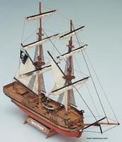 Масштабная модель деревянного корабля Капитан Морган (Captain Morgan)