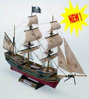 Деревянный корабль Black Queen (Черная королева)