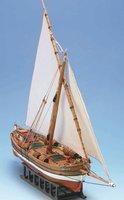 Масштабная деревянная модель корабля Леудо Бреганте мини (Leudo Bregante Med mini)