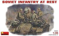 Советская пехота на отдыхе, 1943-1945
