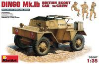 Британский разведывательный автомобиль с экипажем DINGO Mk.1b