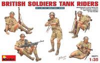 Фигурки Британских танкистов