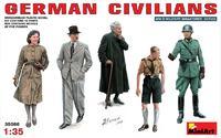 Набор фигурок немецких граждан