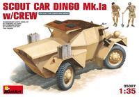 Разведывательный бронеавтомобиль Динго Mк.1a с экипажем.