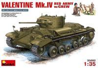 Валентайн Мк.IV, Красная Армия, с экипажем