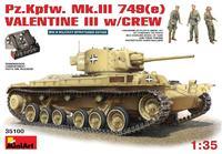 Модель пехотного танка «Валентайн» 3