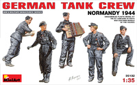 Немецкий танковый экипаж (Нормандия 1944)
