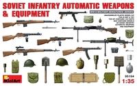 Советское пехотное автоматическое оружие и снаряжение
