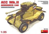 Британский бронеавтомобиль AEC Mk.II