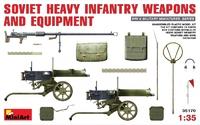 Советское тяжелое пехотное оружие и амуниция