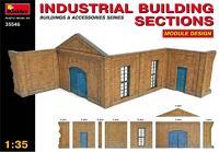 Секции промышленного здания