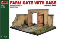 Фермерские ворота с основанием