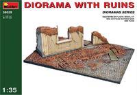 Диорама с руинами