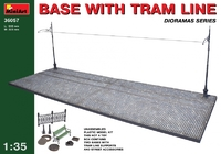 Основание для диорамы с трамвайной линией