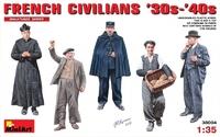 Французские граждане 1930-40 г.