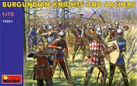 Бургундские рыцари и лучники XV век