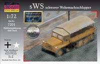sWS (schwerer Wehrmachtschlepper) германский полугусеничный тягач