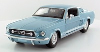 Автомодель 1967 Ford Mustang GT (синий металлик)
