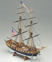 Модель деревянного корабля Лексингтон (Lexington)