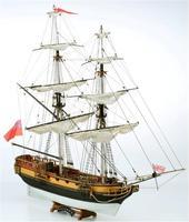 Сборная деревянная модель корабля HMS Valiant
