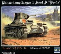 MB3503 PZ Kpfw 1A mod. Breda Light Tank