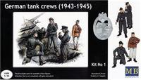 Германский танковый экипаж, 1943-1945, набор №1