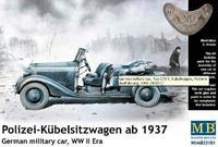 Германская военная машина Polizei-Kubelsitzwagen ab 1937