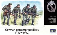 Германская группа поддержки бронетехники, 1939-1942г