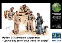 Современные американские танкисты в Афганистане