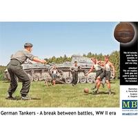 Немецкие танкисты в перерыве между боями