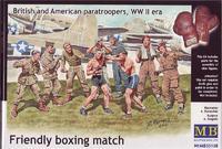 Британские и американские парашютисты