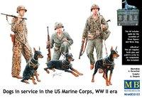 Собаки на службе корпуса морской пехоты США