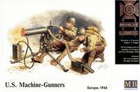 Пулеметчики армии США, Европа 1944