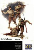 Американская пехота, июль 1944г.