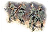 Германская пехота в бою лето 1941-1942