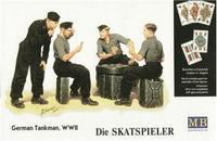 Германские танкисты за игрой в карты