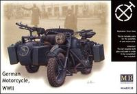 MB3528 WWII German motorcycle