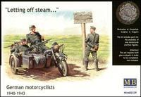 Германские мотоциклисты, 1940-1943