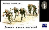 Германские связисты, Сталинград, лето 1942г.