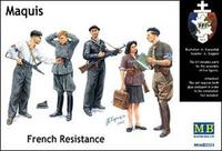 Бойцы французского Сопротивления «Маки»