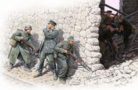 """""""Кто там?"""": немецкие горные стрелки и советские морские пехотинцы, весна 1943 г."""