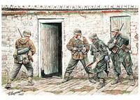 Немецкая пехота, Западная Европа, 1944-1945гг.