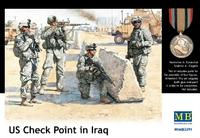 Фигурки американских солдат в Ираке