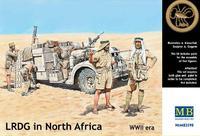 Фигурки LRDG в Северной Африке
