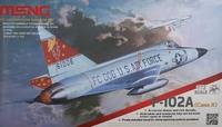 Американский истребитель-перехватчик F-102A (Case X)